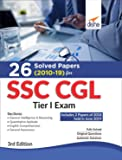 26 Solved Papers (2010-19) for SSC CGL Tier I Exam 3rd Edition