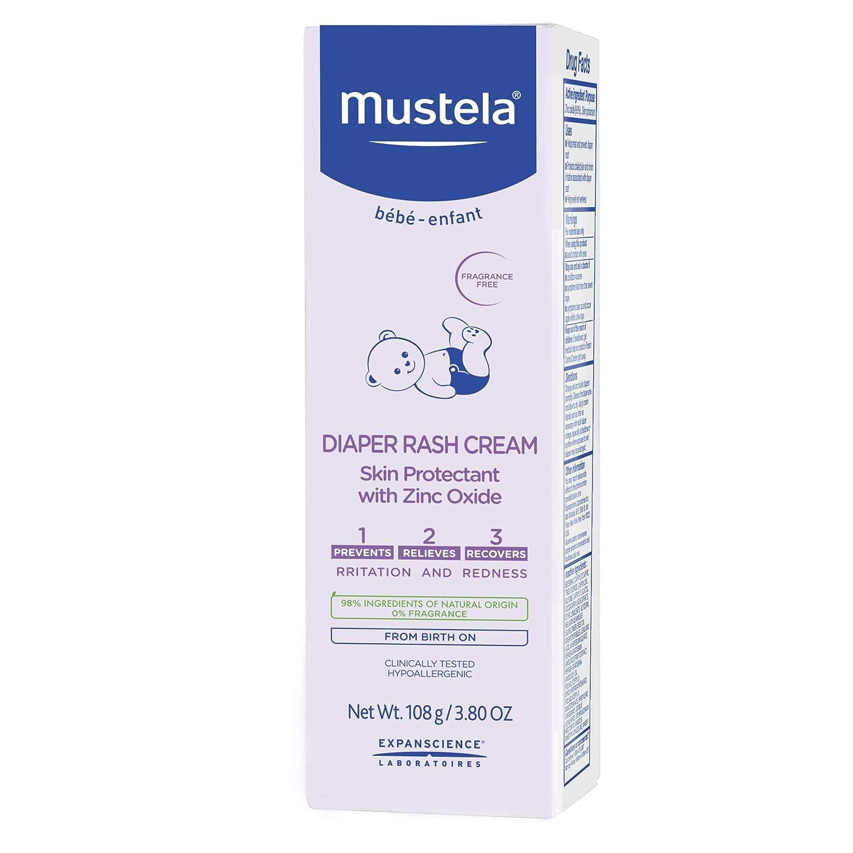 Amazon.com: Mustela 1.2.3.Crema para sarpullido de pañales ...