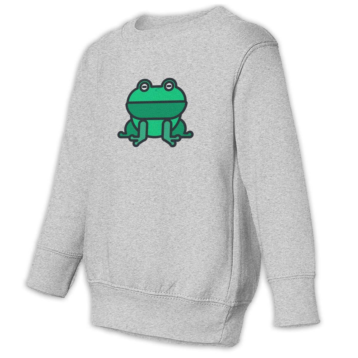Fleece Pull Over Sweatshirt for Boys Girls Kids Youth Frog Unisex Toddler Hoodies