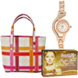 Adbeni Facial Kit Hand Bag And Women Wrist Watch - Pack Of 3