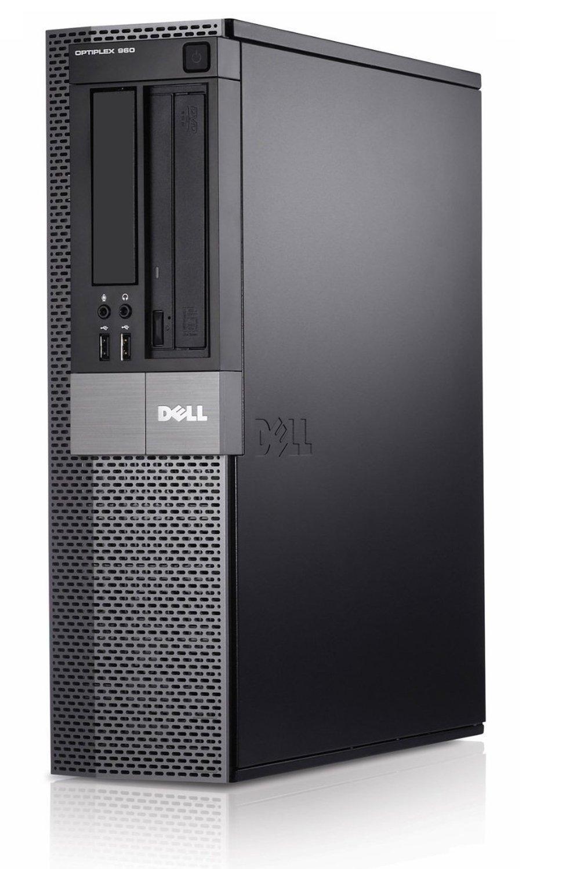 Dell Optiplex 960 SFF Business High Performance Desktop Computer PC (Intel 2 Duo 3.0GHz, 4GB DDR3 Memory, 750GB HDD, DVDRW, Windows Professional) (Certified Refurbished)