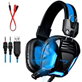 Amazon Price History for:LETTON G3 Upgraded Version With Adapter Cable 3.5mm PC Gaming Stereo Gaming Headsets Headphones with Mic for PC/PS4/XBOX ONE/XBOX 360/Laptop/Mobile/iPhone/iPad(Black)