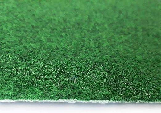 L/änge variabel Meterware livingfloor/® Kunstrasen Vliesrasen Croma mit Noppen Gr/ün in 1,50 m Breite Gr/ö/ße:6.50x1.50 m