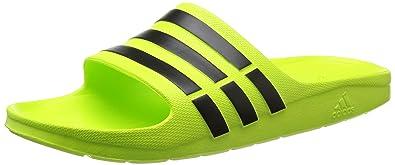 newest 32c99 0d2d1 Adidas Duramo Slide Badeschuhe, SchuhgrößeEUR 48.5, Farbeneongrünschwarz