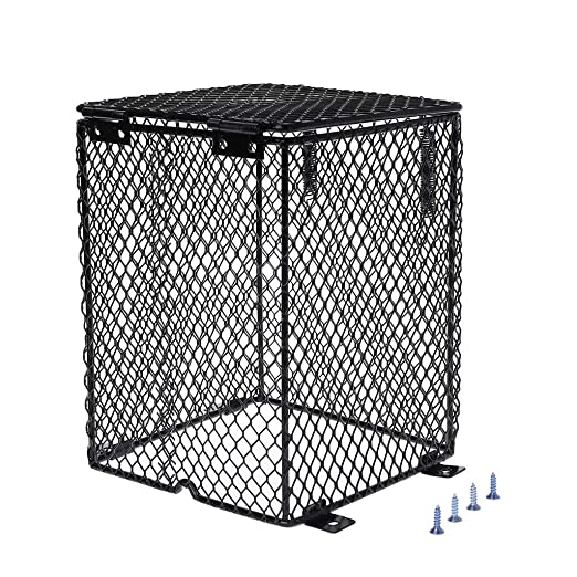 ECMQS Reptile - Bombilla calefactora con carcasa de lámpara ...