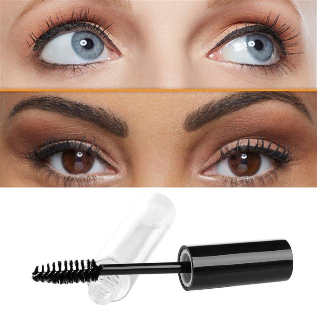 1 pcs 10mL Empty Mascara Tube Eyelash Cream Vial/Liquid Bottle/Container Black Cap