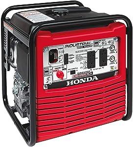 Honda 2,800-Watt Gasoline Powered Portable Industrial Inverter Generator with Eco-Throttle and Oil Alert