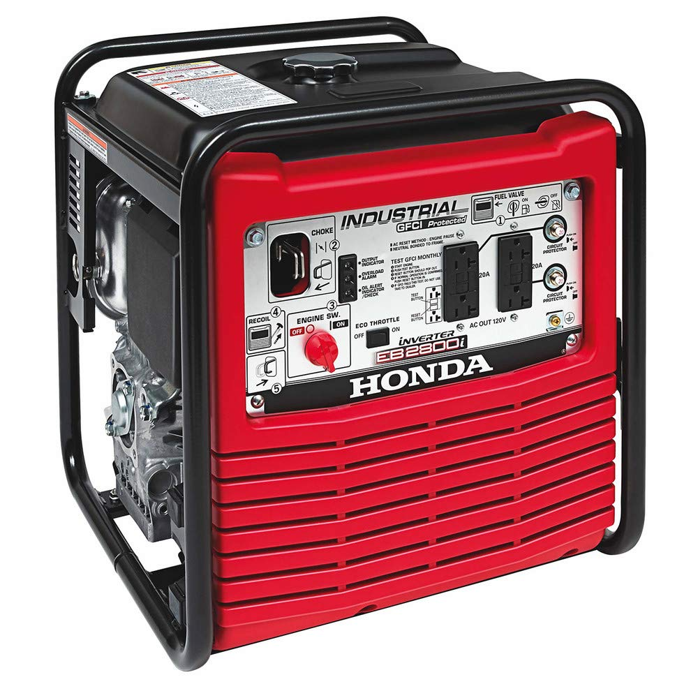 Honda 2,800-Watt Gasoline Powered Portable Industrial