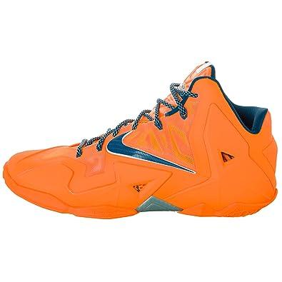 separation shoes 86900 8ad6b Nike Lebron XI 11 HWC basketball shoes NEW atomic orange miami vs ohio  hardwood classics size 12.5US, 11.5UK, 47EUR  Amazon.co.uk  Shoes   Bags