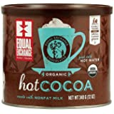 Equal Exchange Hot Cocoa Mix, 12-Ounce Cans (Pack of 3)