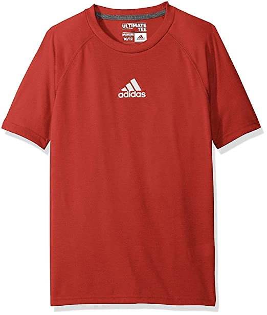 3fb87865 Amazon.com: adidas Youth Boys (8-18) Climalite Short Sleeve Graphic Tee, Color  Options: Clothing