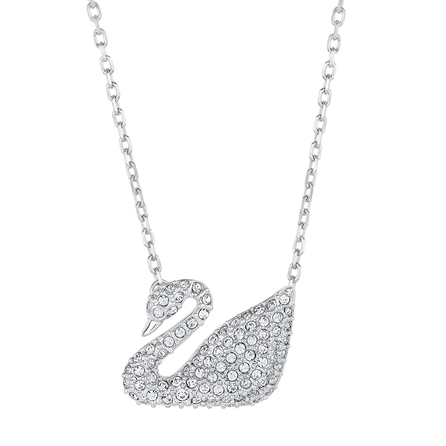 Swarovski Crystal Swan Necklace