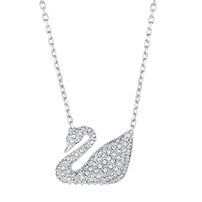 swarovski online silver buy necklace zalora singapore lovely on