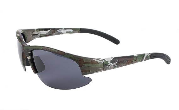 Amazon.com: Rapid Eyewear Mens UV400 Camouflage Polarized ...