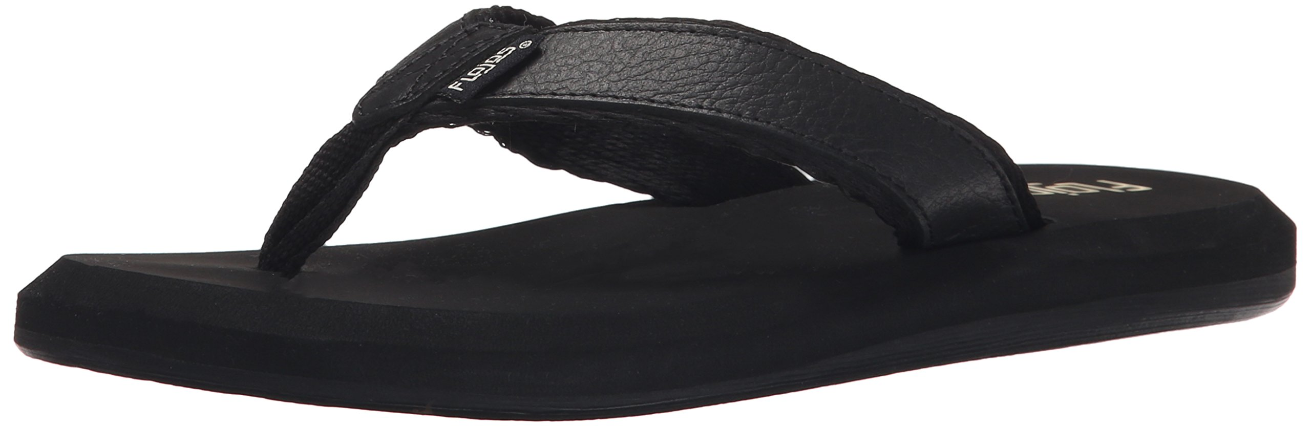 FLOJOS Women's Colette II Wedge Sandal, Black, 5 M US