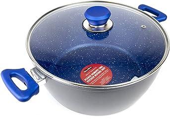 FlavorStone 11 Saphire Non- Stick Forged Aluminum Casserole Pan