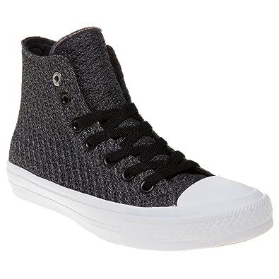 fa0b1a2091c6 Converse Chuck Taylor All Star Ii High Damen Sneaker Grau  Amazon.de ...