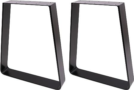 2X Heavy Duty Steel Table Legs Dining Bench Desk Coffee Leg Industrial Box Shape