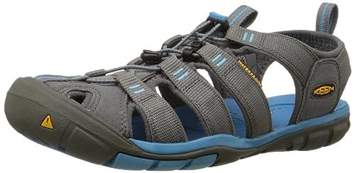 a8888d12e5 KEEN Women's Clearwater CNX Sandal, Gargoyle/Norse Blue, 5 M US: Buy ...