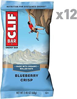 product image for CLIF BAR - Energy Bar - Blueberry Crisp (2.4 Ounce Protein Bar, 12 Count)