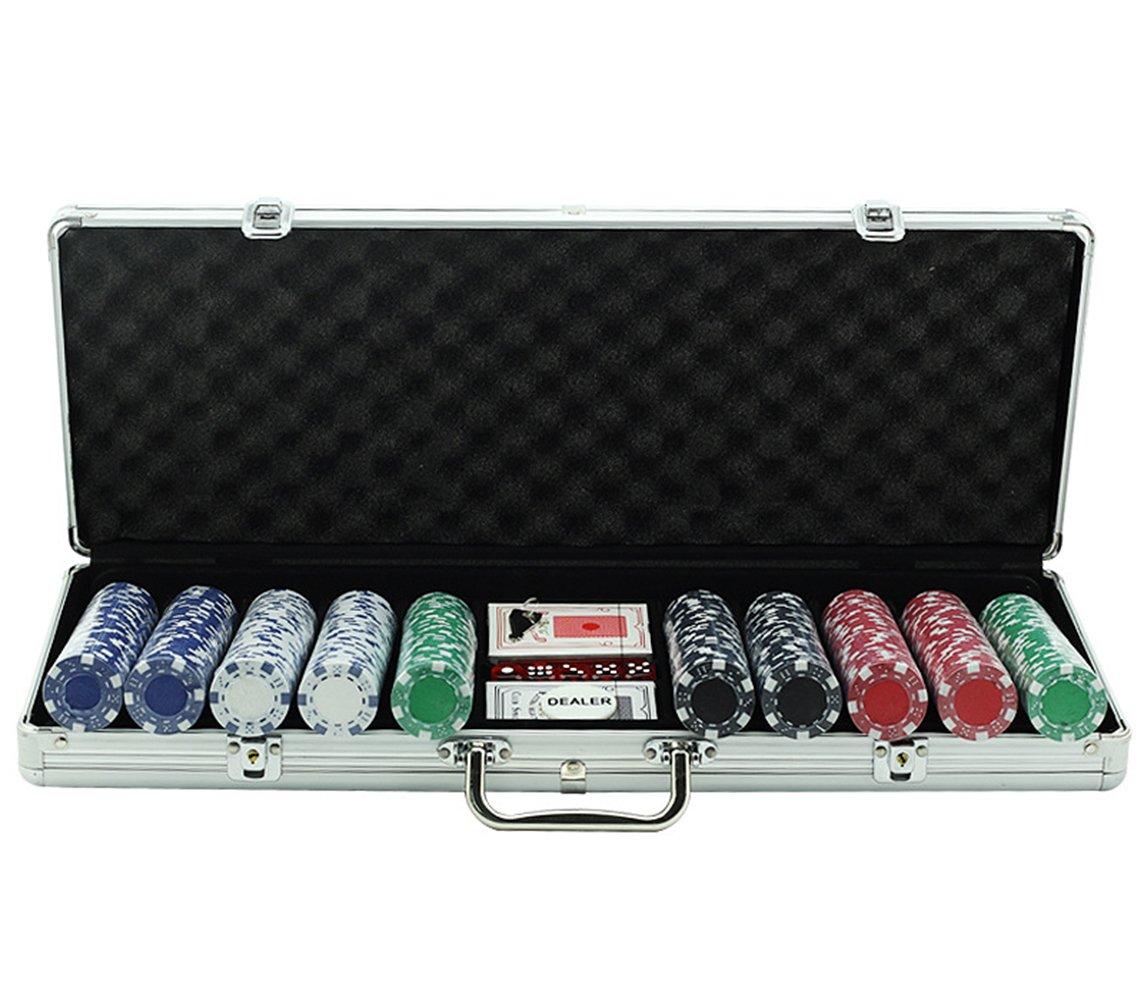 IceGrau Ultimate Pokerset Pokerset Pokerset im Alu Koffer mit 200 Pokerchips 11.5 Gramm Poker Chip Koffer a89fcb