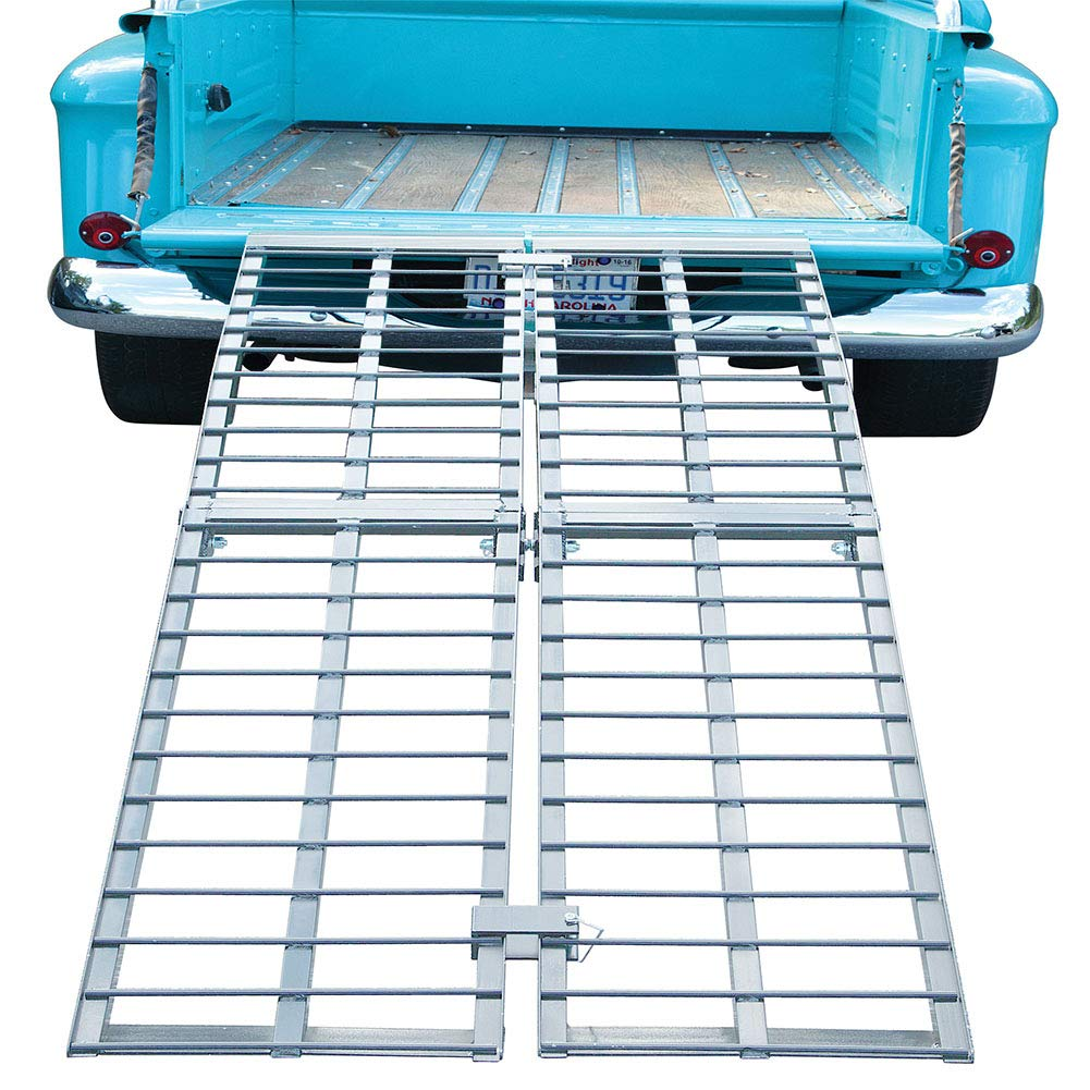 Pit Posse PP2824-9P Fat Boy Folding Arched Ramp 9 x 36 in 2500lbs