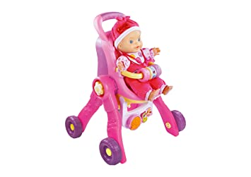 VTech - Carrito de bebé 2 en 1, Little Love (3480-154122)