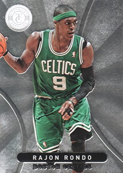f4c67e5cc92 2012-13 Totally Certified Basketball  173 Rajon Rondo Boston Celtics ...