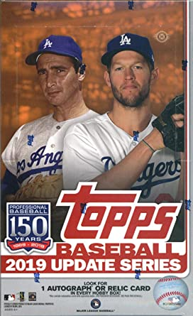 2019 Topps Update Series Baseball Factory Sealed Hobby Box