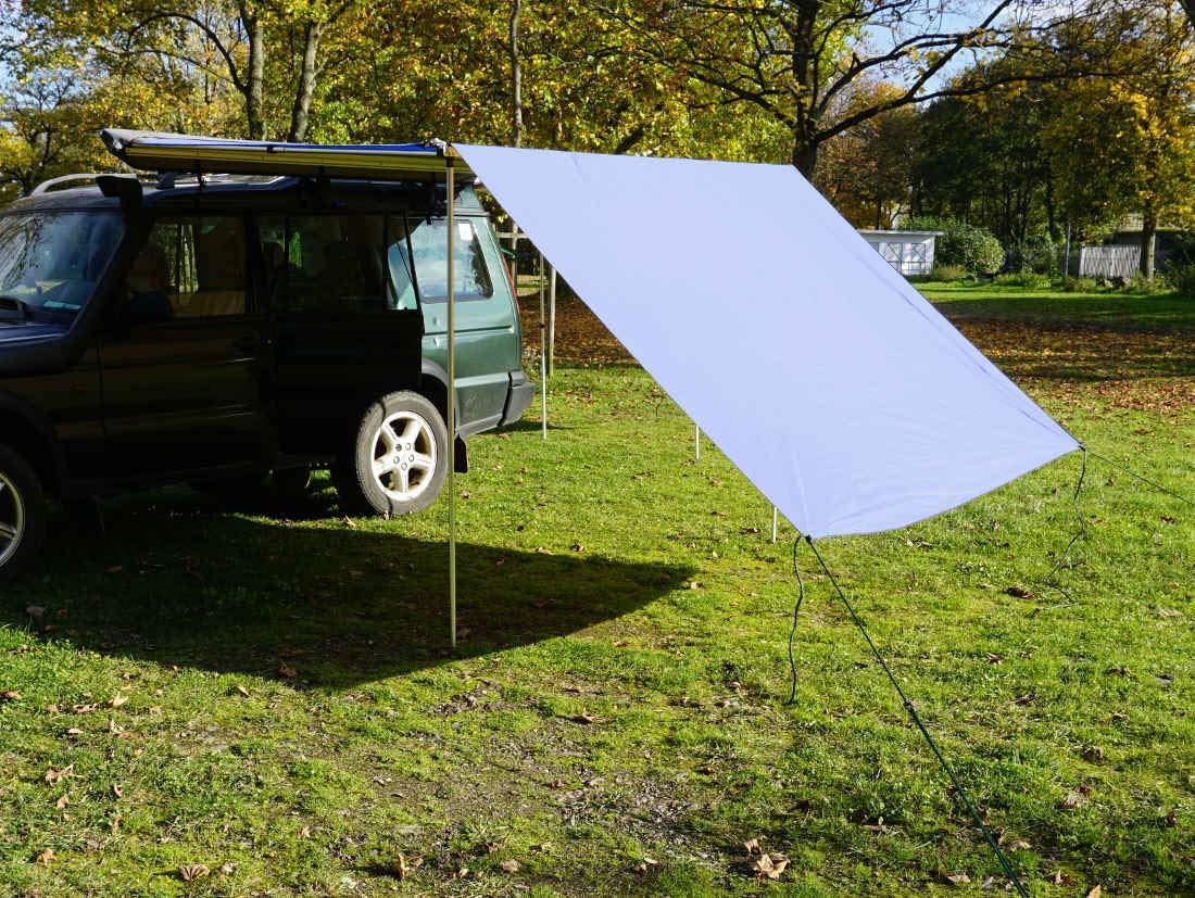 Prime Tech Tarp/Erweiterung zu Fahrzeugmarkise 250cm in beige