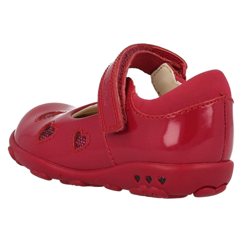 89d34c909904 Clarks Ella Leah Girls Shoes Child UK 6.5 F Purple  Amazon.co.uk  Shoes    Bags