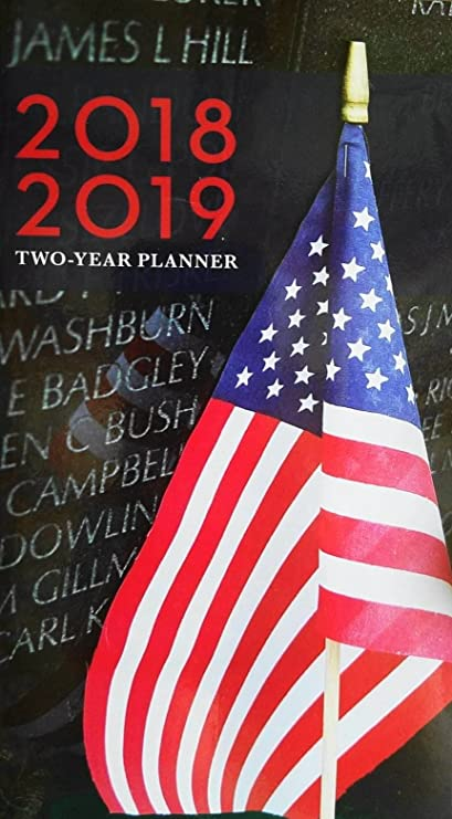 2018 2019 america 2 year pocket planner