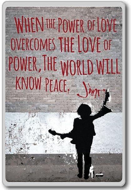 Amazoncom Jimi Hendrix When The Power Of Love Overcomes The Love