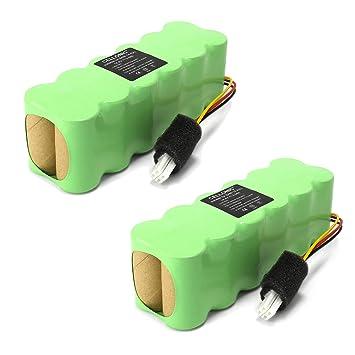 CELLONIC 2X Batería Premium (14.4V, 3000mAh, NiMH) Compatible con Samsung Navibot VCR / SR8730 8750 8824 8825 8830 8840 8843 8844 8845 8846 8848 8849: Amazon.es: Electrónica
