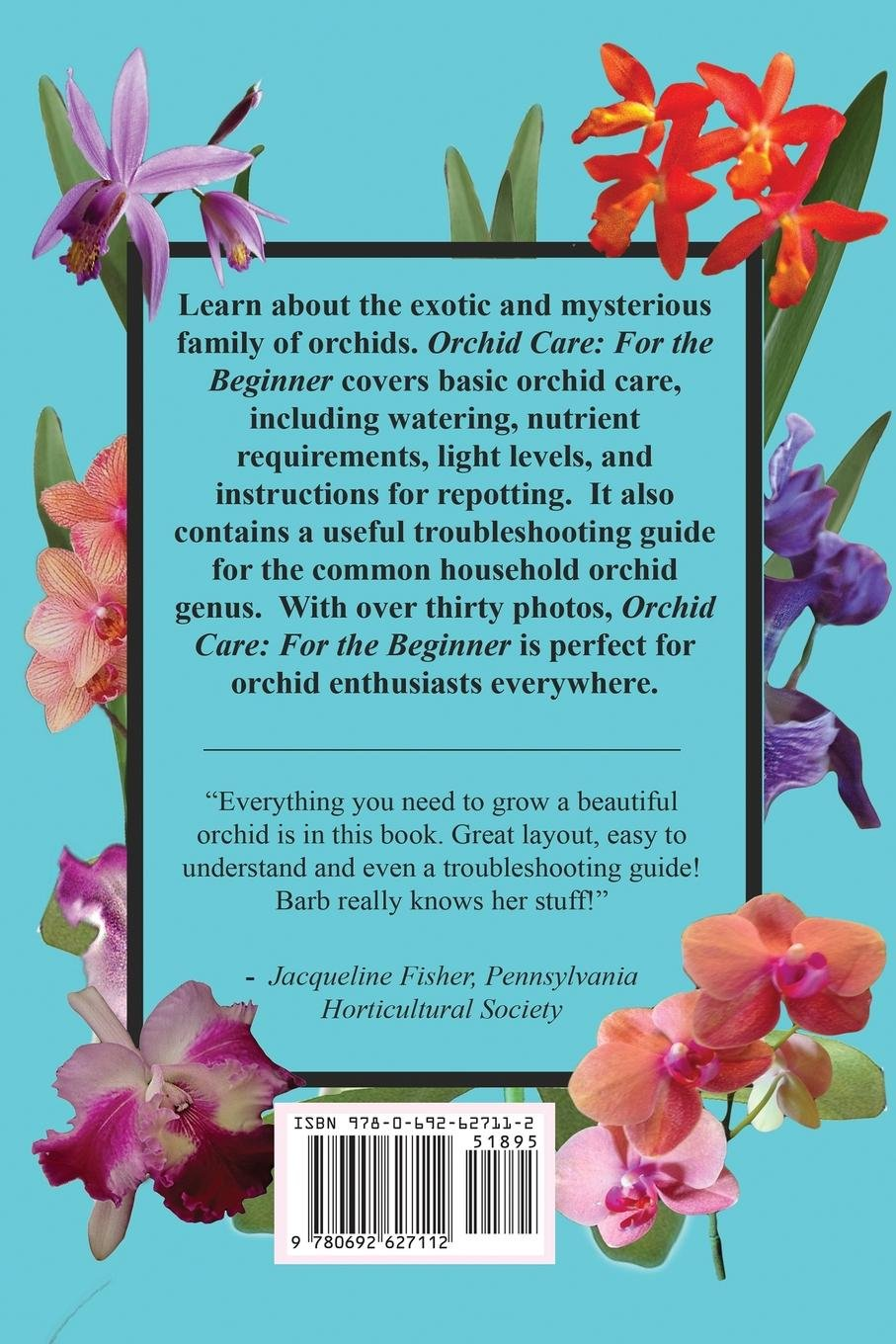 Orchid Care: For the Beginner: Barb Schmidt: 9780692627112: Amazon.com:  Books