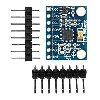 Paradisetronic.com MPU-6050 Modul, 3-Achsen-Gyroskop und 3-Achsen-Accelerometer/Beschleunigungssensor/Neigungssensor, I2C, z.B. für Arduino, Genuino, Raspberry Pi