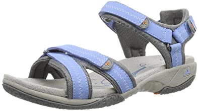 96a10aed992f Clarks Isna Pebble 203582854 Sandals Blue Size  4. Roll over image to zoom  in