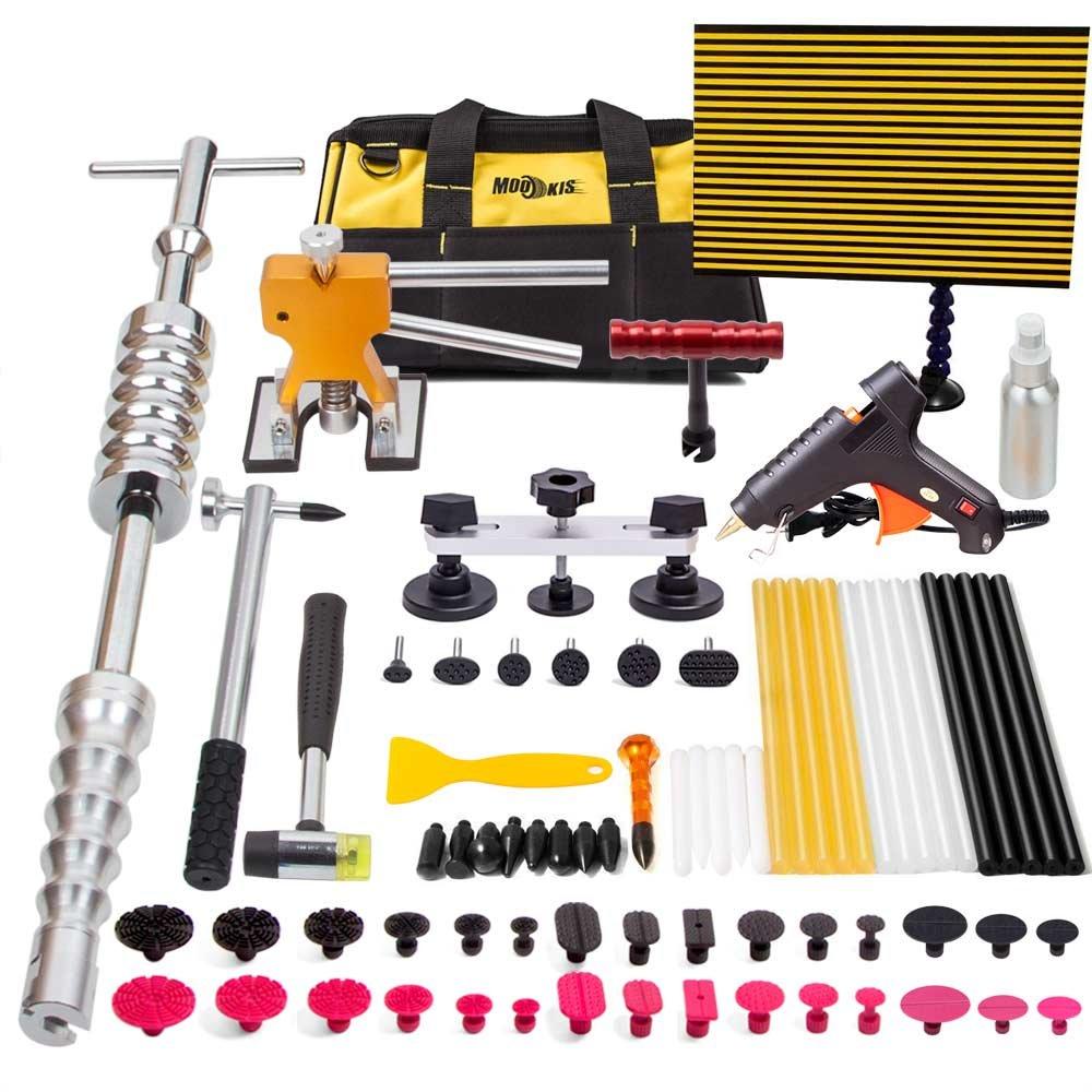 Mookis PDR Glue Sticks, 10PCS Hot Glue Sticks for Paintless Dent Repair