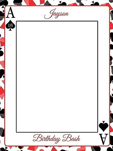 Amazon Com Custom Home Decor Ace Card Casino Gambler Design Photo