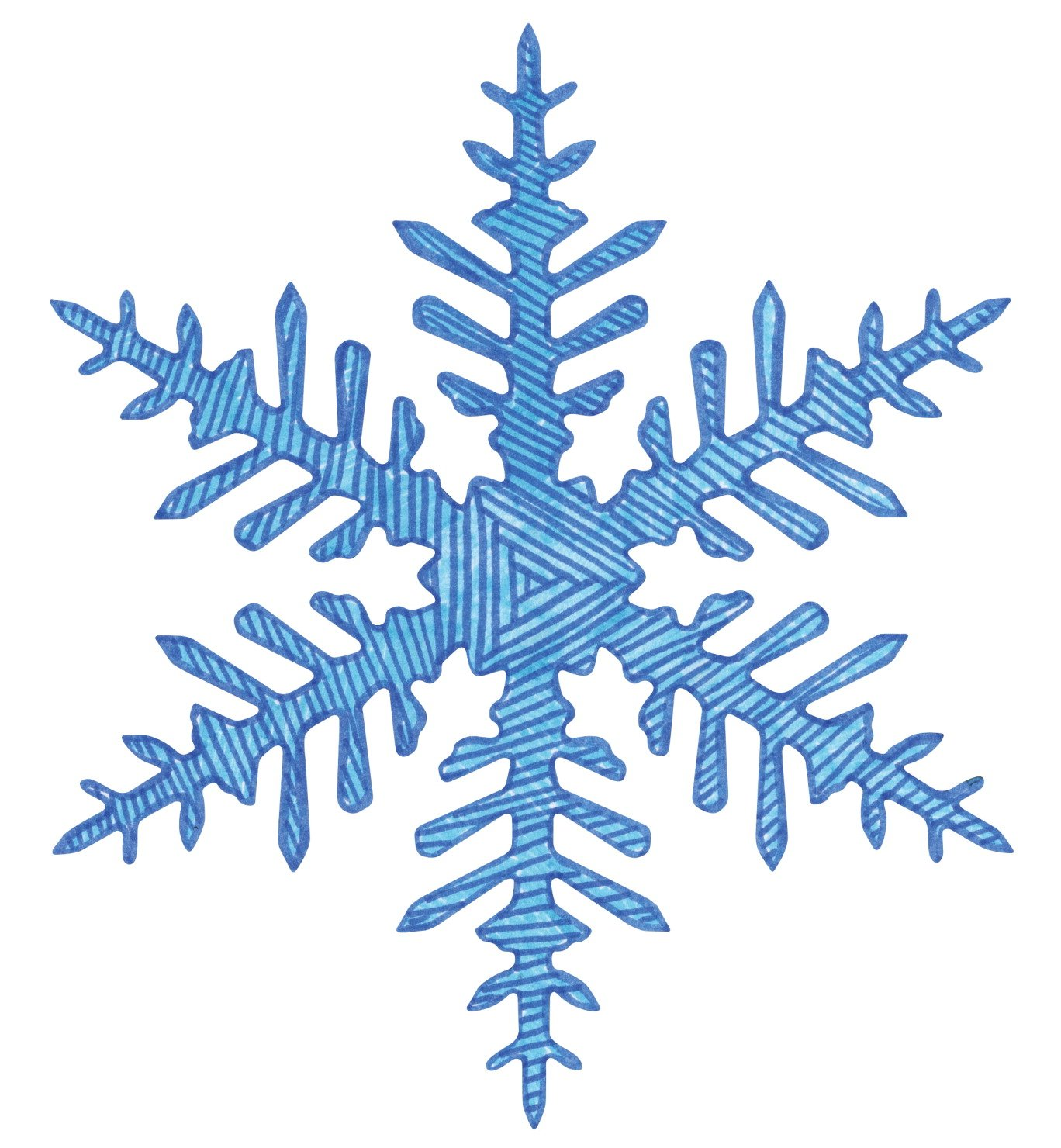amazon com roylco super snowflake stencils 12 per pack