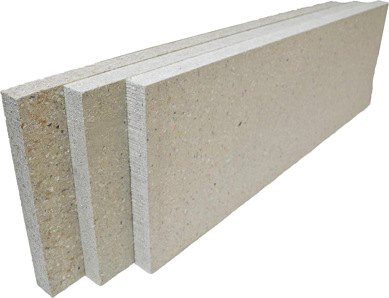 12-Pack 1 x 3 x 1.5 eco-C-tex Panels Audimute Acoustic Panels - Sound Absorption Panels