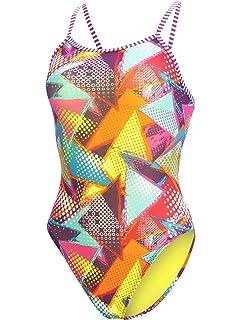 73cef732b7f3f Amazon.com : Dolfin Women's Uglies String Back ONE-Piece SWIMSUIT ...