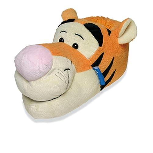 5c3fae9347aa2 SAMs Animaux Chaussons Disney Winnie l ourson Tigrou Chausson drôle  Humoristique Chaud, pumop patigro
