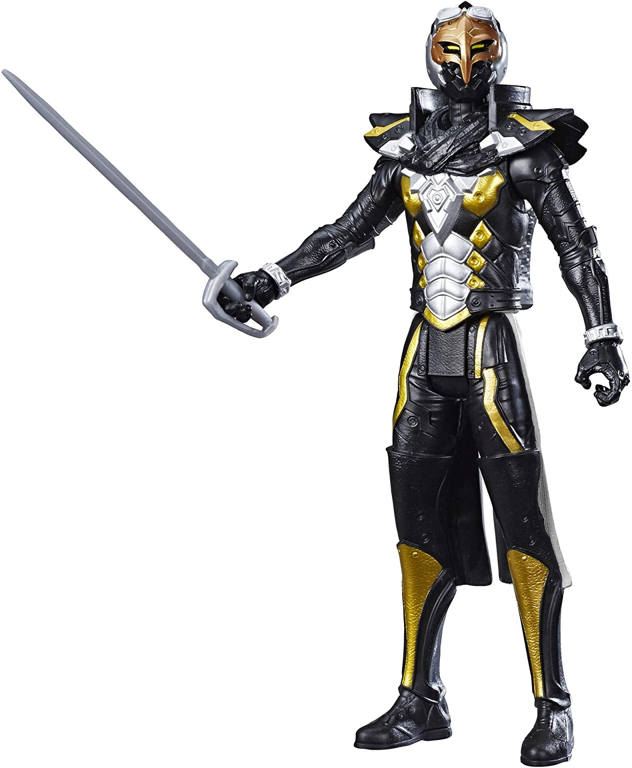 """Power Rangers Beast Morphers 12"""" Cybervillain Robo-Blaze Action Figure Toy Inspired by The TV Show"""