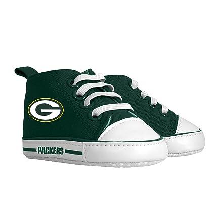 bd1065eb4 Amazon.com : Baby Fanatic Pre-Walker Hightop, Green Bay Packers : Baby