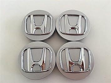 yongyong218 Juego de 4 tapacubos DE 58 mm para Honda Civic Intega (2,25), Color Plateado: Amazon.es: Coche y moto
