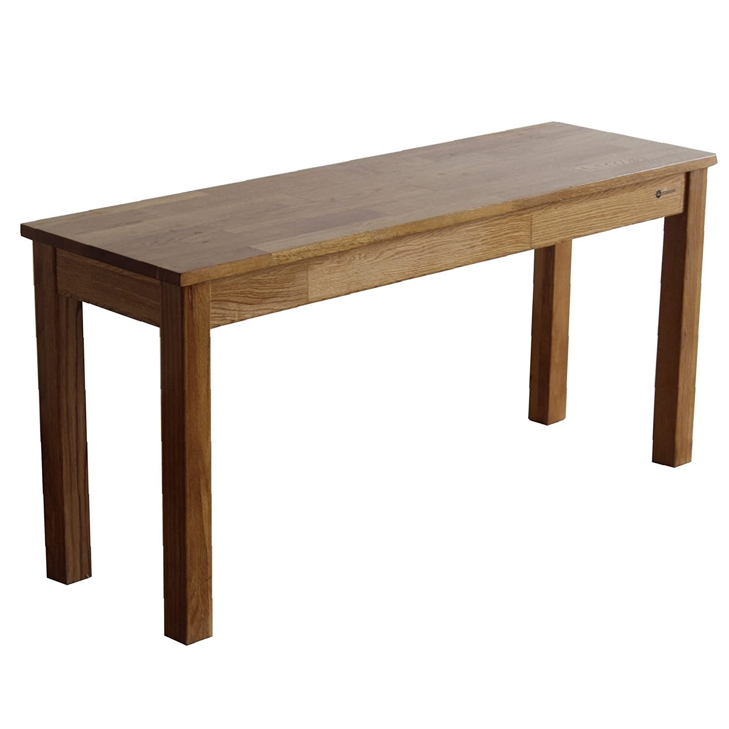 Homegear Solid Oak Wooden Dining Bench/Seat