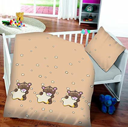 Bebé Cielo Cuna Dos Piezas Ropa de cama 100 x 135 cm o saco de dormir