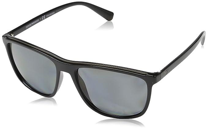 Emporio Armani 0ea4109 501781 57 Gafas de sol, Black, Hombre ...