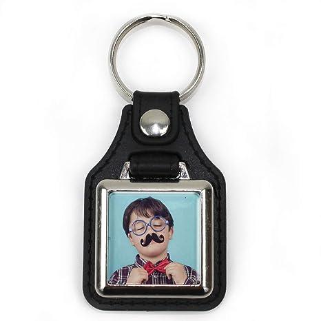 Llavero Coche Personalizado con Foto/Imagen/Texto/Nombre | Llaveros Personalizados a 1 Cara | Regalo Original | Varios Modelos Disponibles | Gállego